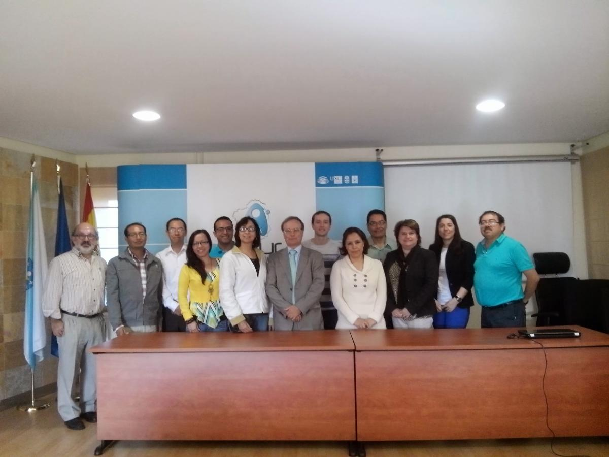 organizes a training seminar for representatives of the and periodic evaluation of degrees were explained and finally an explanation about the international evaluation processes that develops was done